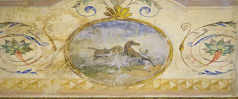 Affreschi del Palazzo gandolfo Maggiore