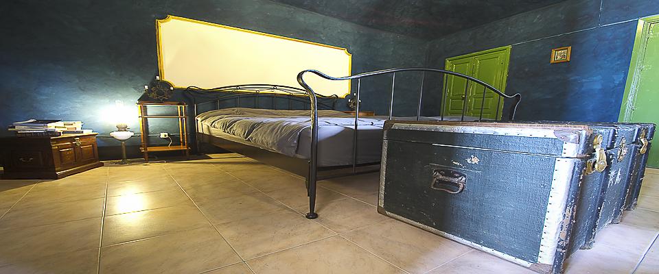 Camera da letto - Alcova Siciliana del Palazzo Gandolfo Maggiore 2