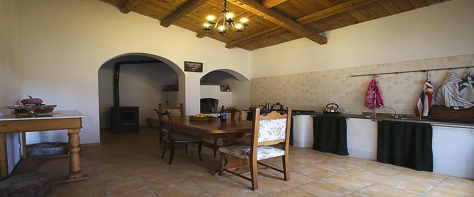 Cucina del Palazzo Gandolfo Maggiore 2