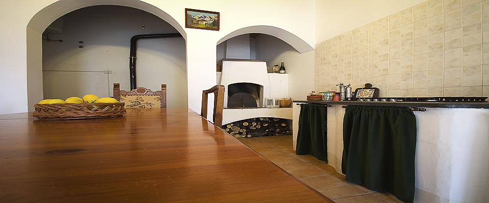 Cucina del Palazzo Gandolfo Maggiore