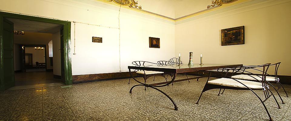 Il Salone del Palazzo Gandolfo Maggiore 2