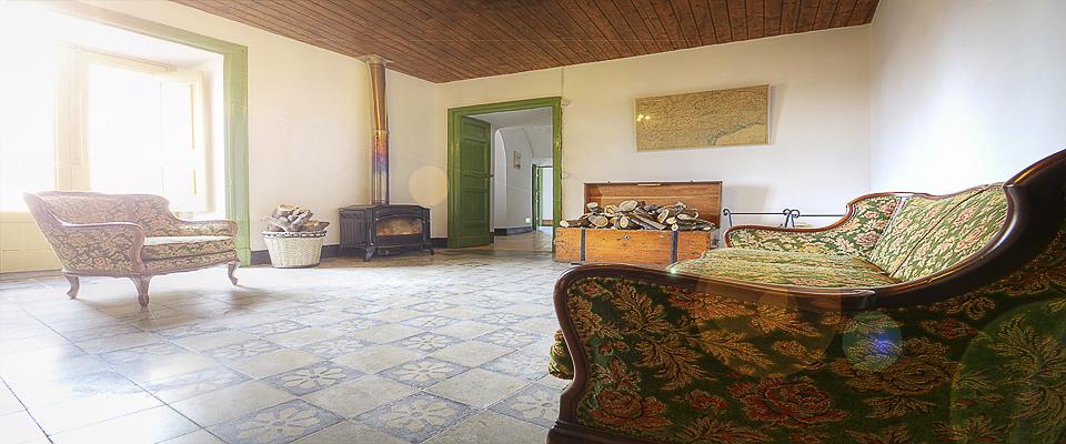 La Sala Lettura del Palazzo Gandolfo Maggiore