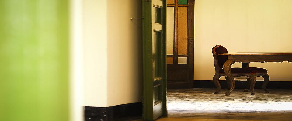 Verso la Sala Lettura del Palazzo Gandolfo Maggiore